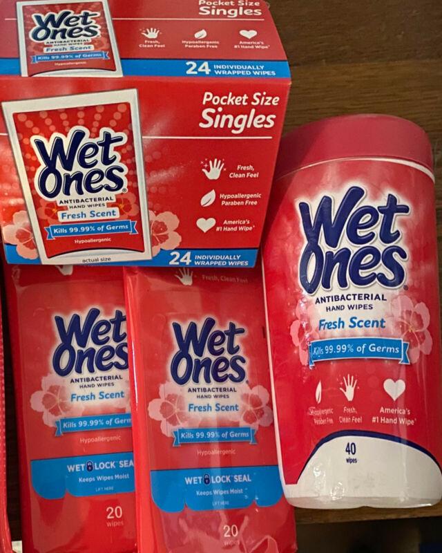 Wet ones Fresh scent bundle