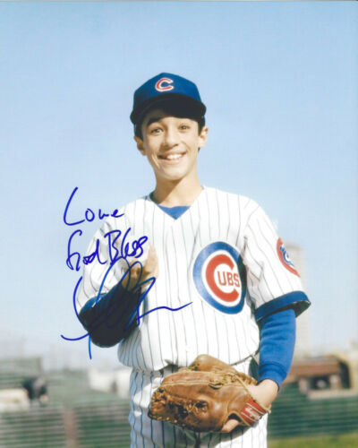 THOMAS IAN NICHOLAS SIGNED AUTHENTIC 'ROOKIE OF THE YEAR' 8X10 PHOTO w/COA CUBS