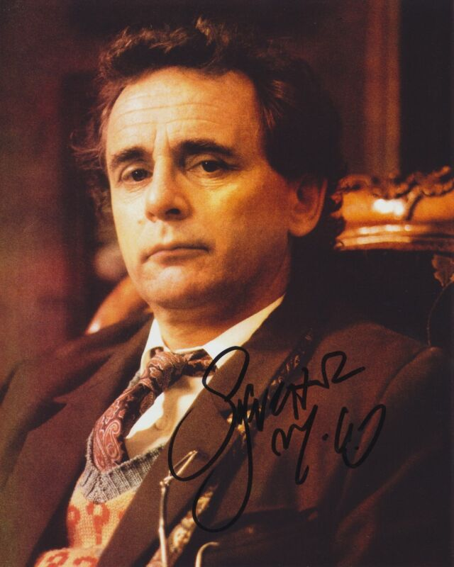 SYLVESTER MCCOY SIGNED DOCTOR WHO 8X10 PHOTO 2