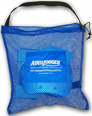 AquaJogger Mesh TOTE BAG Drawstring Gym Equipment Pool Rehab Workout LARGE AP50
