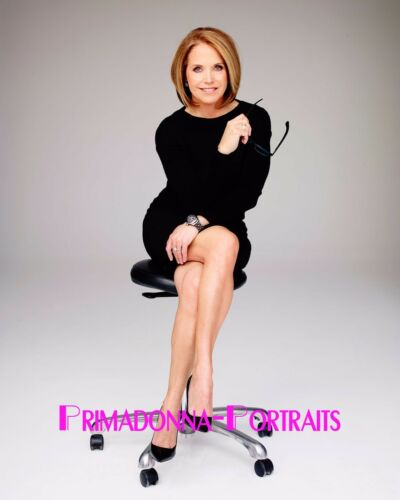 KATIE COURIC 8X10 Lab Photo 2010s Sexy NEWS ANCHOR Journalist Portrait