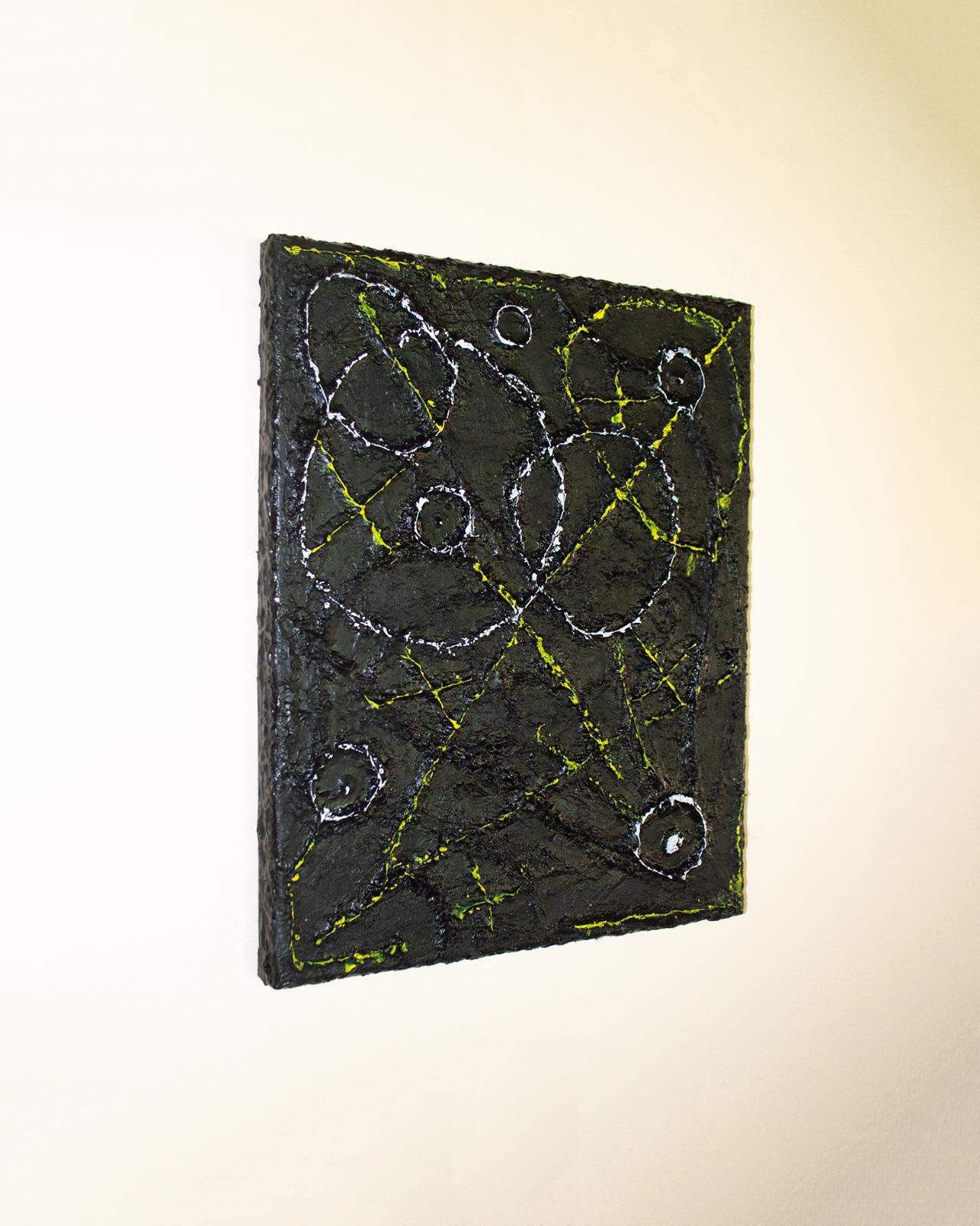 Original Art Painting XO Light Modern Abstract Acrylic On Canvas Painting - $600.00