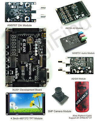 Xl001 Xilinx Fpga Development Board Spartan-6 Xc6slx9 Starter Kit English Manual