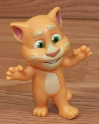 2010   2016 Outfit 7 Limited Orange Talking Tom Mcdonalds Toy Cat Only   Read