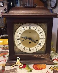 Vintage German  ALFRY  Westminster Chimes  Mantle Clock          Germany