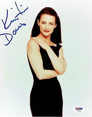 Kristin Davis Signed Sex In The City Authentic Auto 8X10 Photo Psa Dna  Y47231