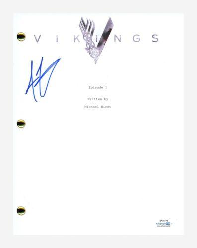 Alexander Ludwig Signed Autographed VIKINGS Pilot Episode Script ACOA COA