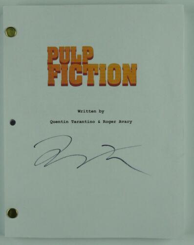 Quentin Tarantino Pulp Fiction Autograph Signed JSA Full Script