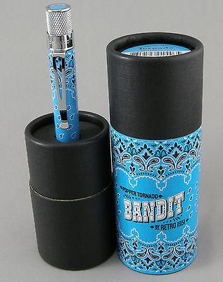 Retro 1951 51 Tornado Bandit Billy Blue Rollerball Pen - New, Sealed