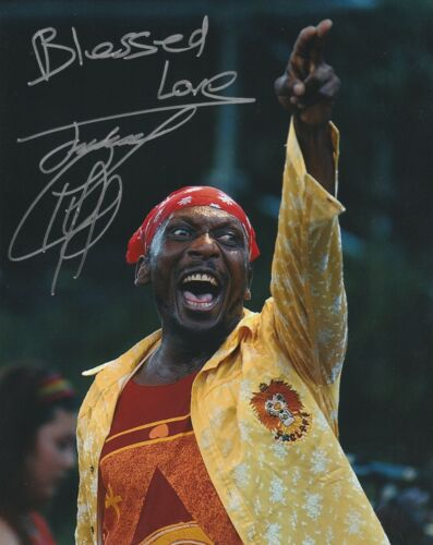JIMMY CLIFF SIGNED  8X10 PHOTO W/PROOF 4