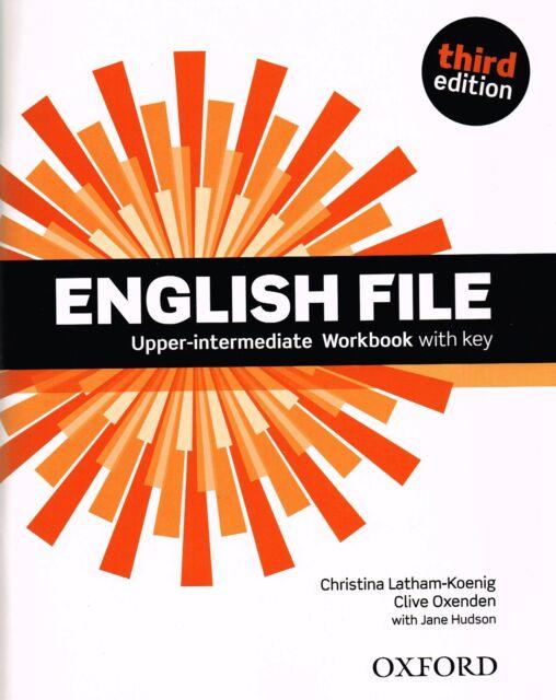 Oxford ENGLISH FILE Upper-Intermediate Third Edition WORKBOOK with Key @NEW 2014