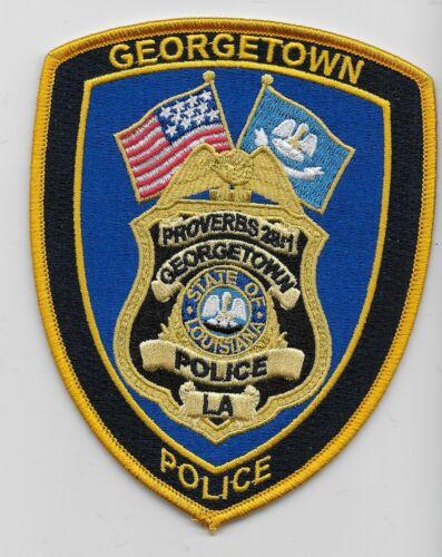 NEW Georgetown Police State Louisiana LA Colorful
