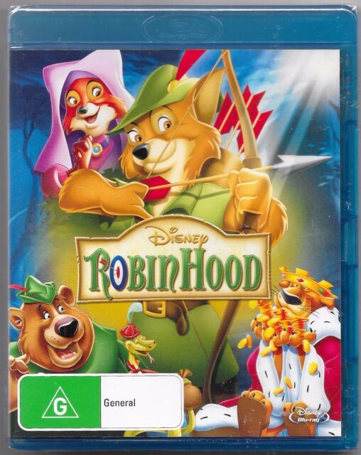 Robin Hood (Walt Disney) Blu-ray New & Sealed Region B Free Post