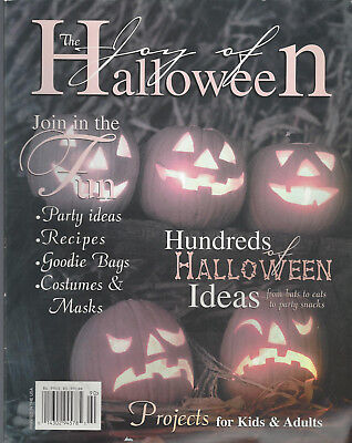 Halloween Idea For Kids (The Joy of Halloween (1998) Hundreds of Halloween Ideas for Kids and Adults)
