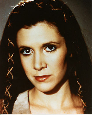 Star Wars Carrie Fisher Princess Leia Hairstyle 8x10 Photo - Star Wars Hair Styles