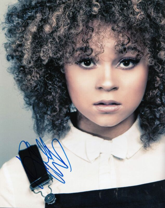 RACHEL CROW signed *INVISIBLE SISTER* MOVIE 8X10 photo Nikki *PROOF* W/COA #2