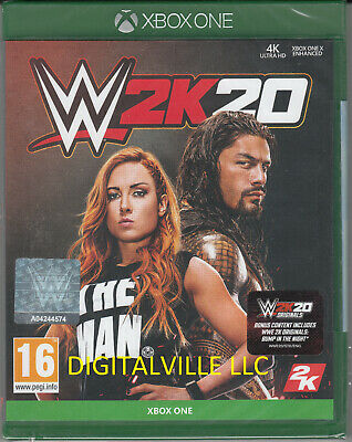 WWE 2K20 Xbox One Brand New Factory Sealed