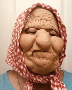 Halloween- Mr & Mrs Old Folks Mask (bought at Disney World)