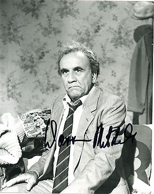 WARREN MITCHELL, Hand Signed 10x8  Photographic still.