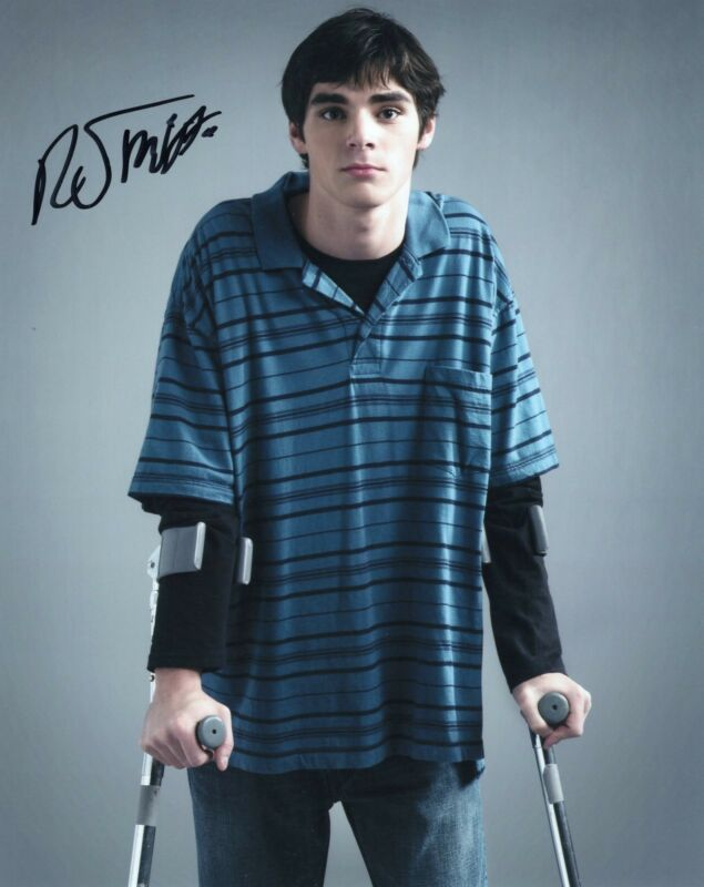 RJ Mitte Breaking Bad Walter White Jr. Signed 8x10 Photo w/COA #14