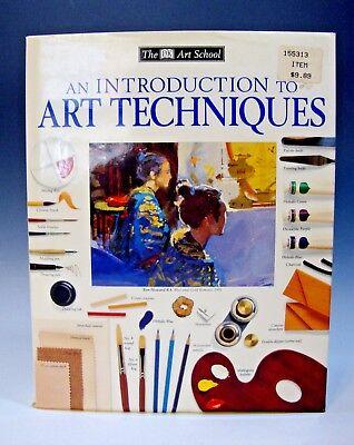 DK Art School Introduction/Techniques Hardcover/DJ Dk Art School