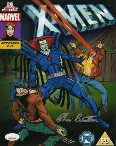 "Chris Britton Autograph Signed 8x10 Photo -X-Men Animated ""Mr Sinister""(JSA COA)"