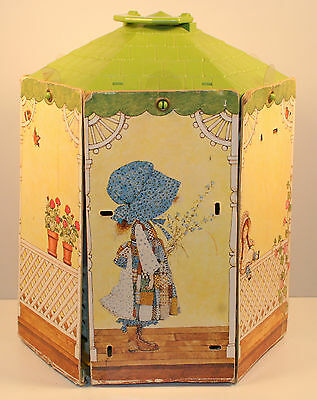"Vintage 1976 Holly Hobbie Hobby 12"" Gazebo Doll House"