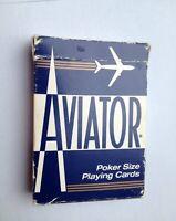 AVIATOR-Deck-Poker-Size-blau kartenspiel Speilkarten Hessen - Hammersbach Vorschau