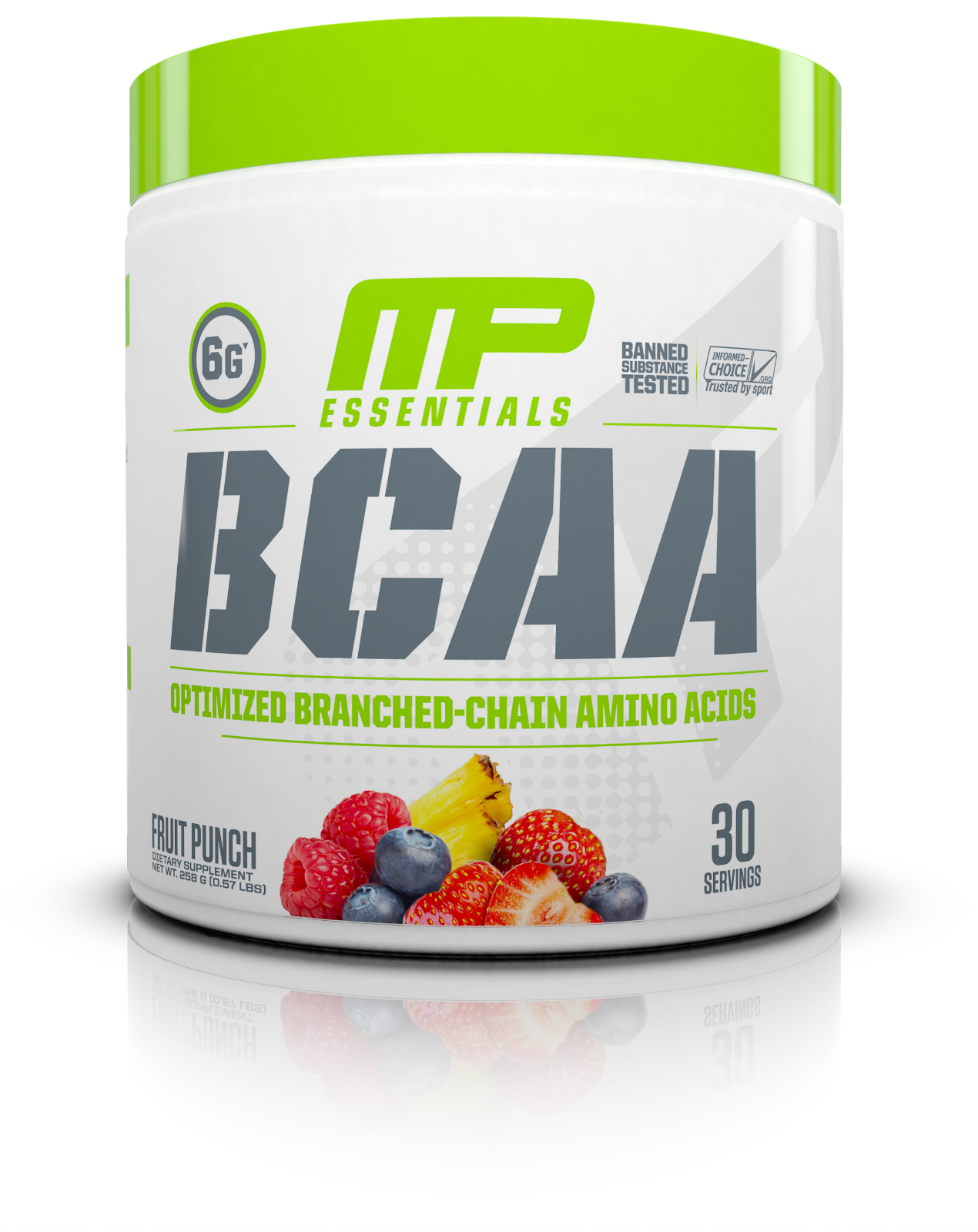MusclePharm MP BCAA 3:1:2 Amino Acid Complex Lean Muscle Growth 30 Servings