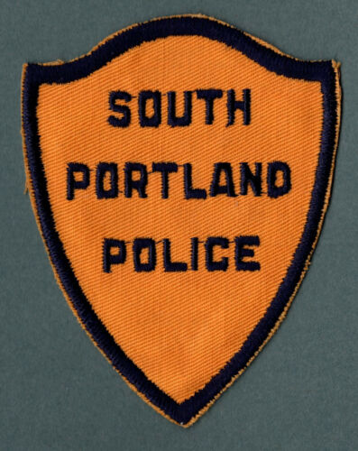 South Portland Maine Police Patch