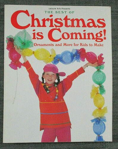 """""""The Best of Christmas is Coming"""" Christmas crafting for kids book"""