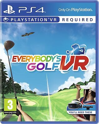Everybody's Golf VR | PlayStation 4 PS4 PSVR New - Preorder