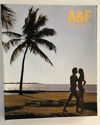 ABERCROMBIE & FITCH Summer Issue 2002 Catalog A&F Quarterly BRUCE WEBER