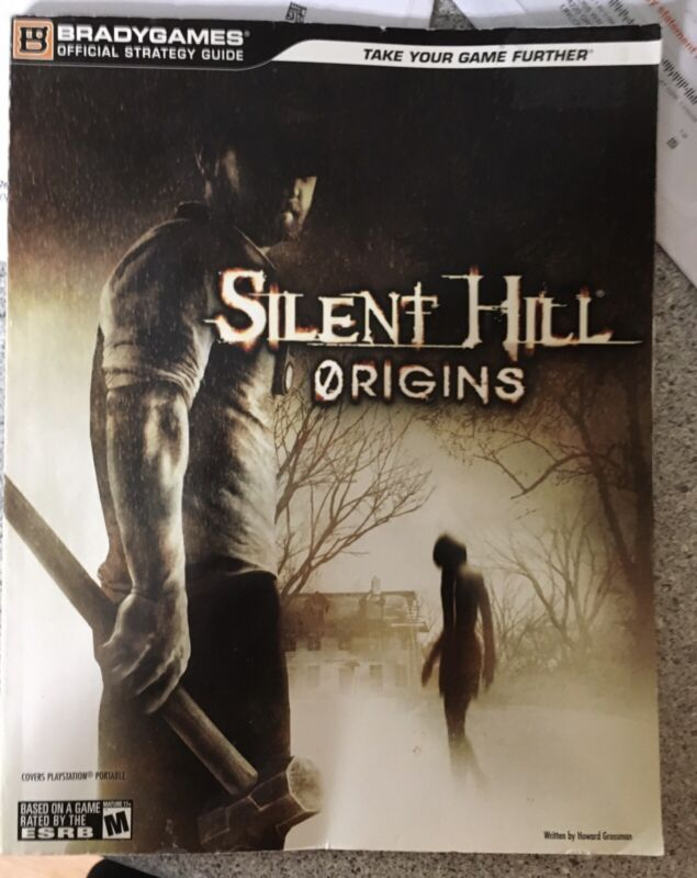 BRADY GAMES Silent Hill Origins Strategy Guide Very Good Condition