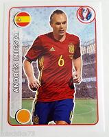 Panini Pegatinas Em Francia No. 373 Andrés Iniesta Star Jugador -  - ebay.es
