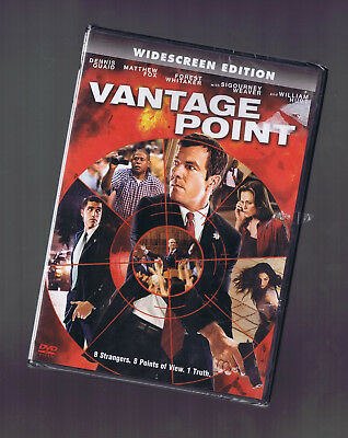VANTAGE POINT - WIDE SCREEN version (DVD) Dennis Quaid Matthew Fox NEW Vantage Point Screen