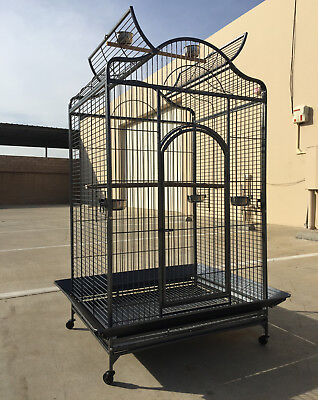 """36""""x30""""x72""""H XX Large Open PlayTop Cage Cockatiel Macaw Parrot Conure Aviary 148"""