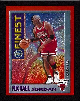 Michael Jordan 1996-97 Topps Finest Mystery Finest M1 Chicago Bulls