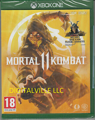 Mortal Kombat 11 Xbox One Brand New Factory Sealed