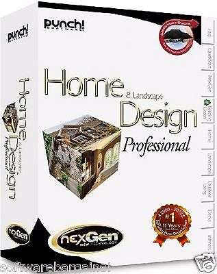 Punch home and landscape design professional brand new box for Punch home and landscape design update