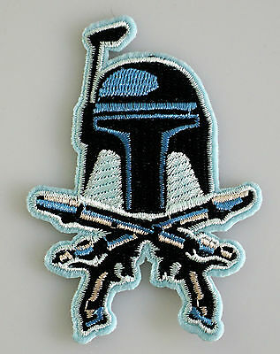 Star Wars - Jango Fett - Uniform Patch Kostüm Aufnäher - zum Aufbügeln - - Kostüm Jango Fett