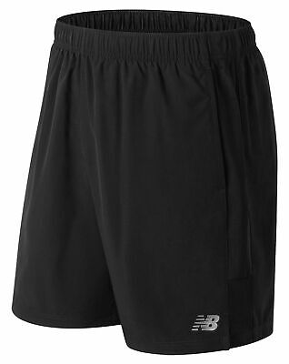 New Balance Men's Accelerate 7 Inch Short Black Size L