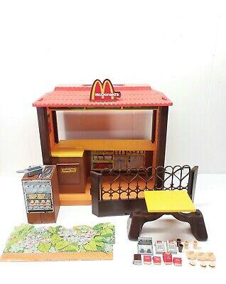 1982 Barbie Loves McDonald's Playset Vintage Toy