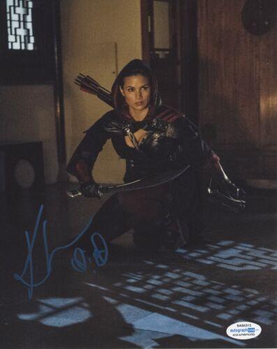 Katrina Law Arrow Autographed Signed 8x10 Photo ACOA