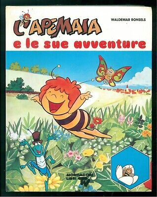 BONSELS WALDEMAR L'APEMAIA E LE SUE AVVENTURE MONDADORI 1980 LIBRI TV PRIMA ED.