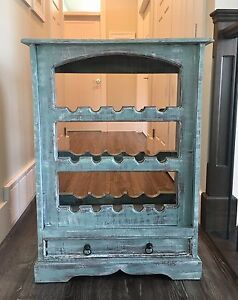 MOVING - solid wood wine rack