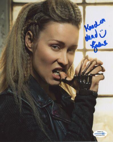 Hilary Jardine Van Helsing Autographed Signed 8x10 Photo ACOA