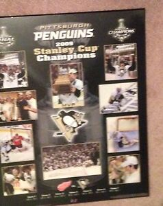 2009 Pitts. Penguins Championship Poster