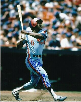 AL OLIVER   MONTREAL EXPOS  1982 NL BATTING CHAMP .331   ACTION SIGNED -