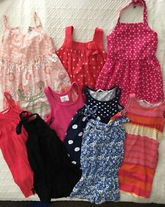 Girls Summer Dresses(10 pieces)